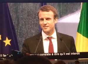 Macron vous avez l'amour, voici les preuves
